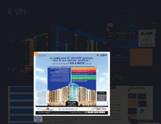 gaurscitycentre.org screenshot