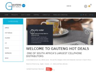 gautenghotdeals.co.za screenshot