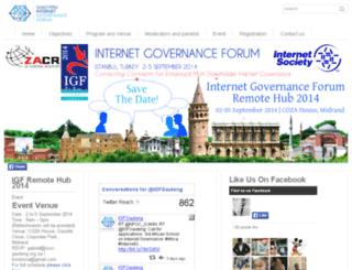 gautengigf.org.za screenshot