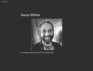 gavanwilhite.com screenshot