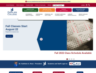 gavilan.edu screenshot
