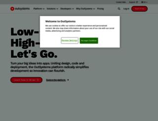 gavin-beta.outsystemscloud.com screenshot