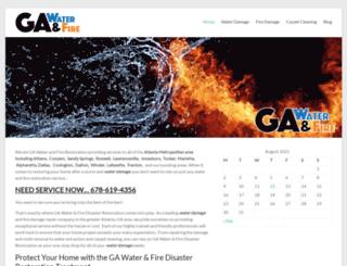 gawaterandfire.com screenshot