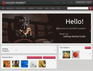 gazart-market.com screenshot