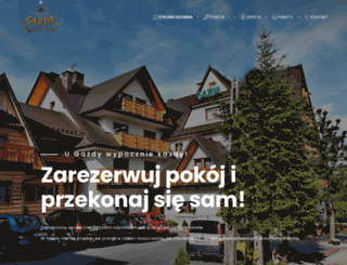gazda.turystyka.pl screenshot