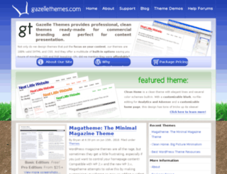 gazellethemes.com screenshot