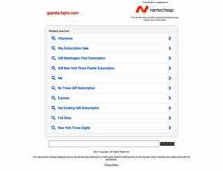 gazeta-lajmi.com screenshot