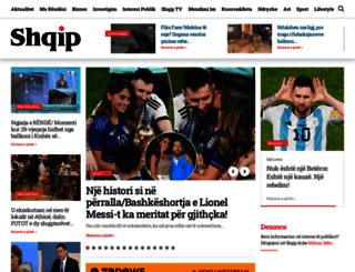 gazeta-shqip.com screenshot