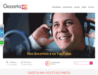 gazetaam.com screenshot