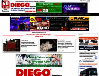 gazetadambovitei.ro screenshot