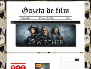 gazetadefilm.ro screenshot