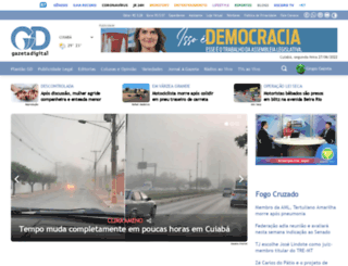 gazetadigital.com.br screenshot
