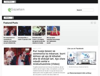 gazetain.com screenshot
