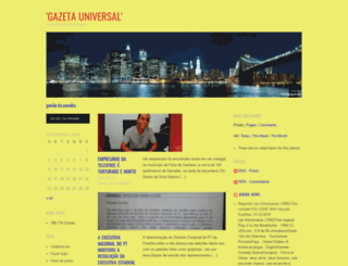 gazetauniversal.wordpress.com screenshot
