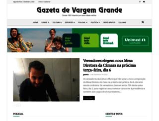 gazetavg.com.br screenshot
