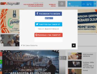 gazetealbayrak.com screenshot
