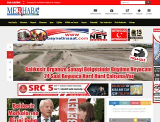 gazetemerhaba.com screenshot