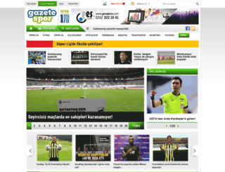 gazetespor.com screenshot