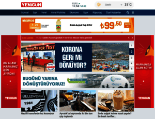 gazeteyenigun.com.tr screenshot