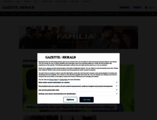 gazetteherald.co.uk screenshot