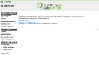 gazettelabo.info screenshot