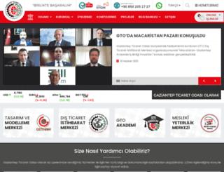 gaziantepexport.org screenshot