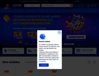 gazinatacado.com.br screenshot