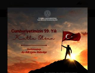 gaziosmanpasa.meb.gov.tr screenshot