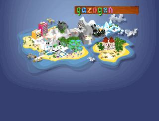gazogen.com screenshot