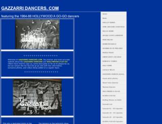 gazzarridancers.com screenshot