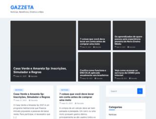 gazzeta.com.br screenshot