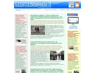 gazzettabenevento.it screenshot
