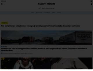 gazzettadiparma.it screenshot