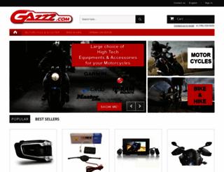 gazzz.fr screenshot