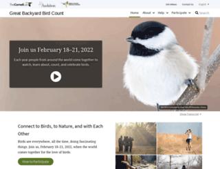 gbbc.birdcount.org screenshot