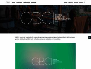 gbci.org screenshot