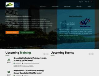 gbcindonesia.org screenshot