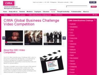 gbcvideocompetition.cimaglobal.com screenshot