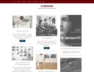 gbenard.wordpress.com screenshot