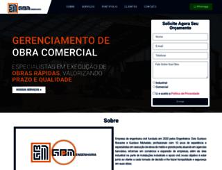 gbmengenharia.com.br screenshot
