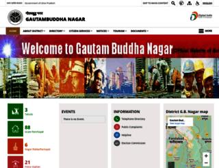 gbnagar.nic.in screenshot