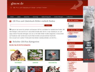 gbnow.de screenshot