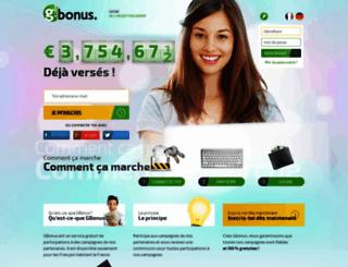 gbonus.fr screenshot