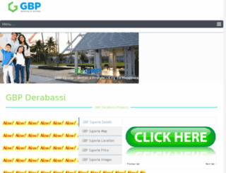 gbpderabasi.com screenshot