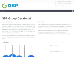 gbpderabassi.co screenshot