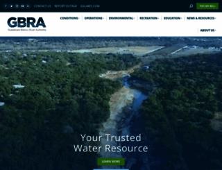 gbra.org screenshot