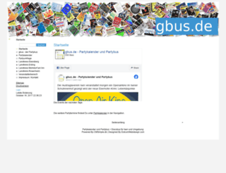 gbus.de screenshot