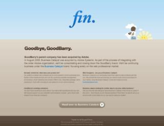 gbusa.goodbarry.com screenshot