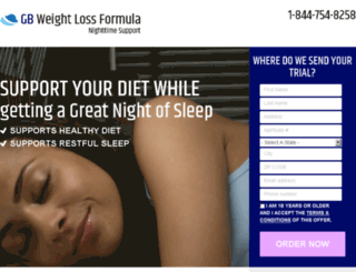 gbweightlossformula.com screenshot