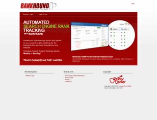 gc.rankhound.com screenshot